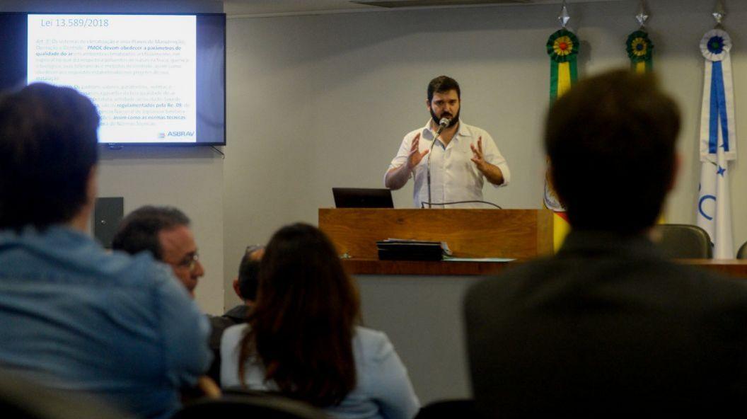 ASBRAV reforça debate no legislativo sobre a importância da Qualidade do Ar interior